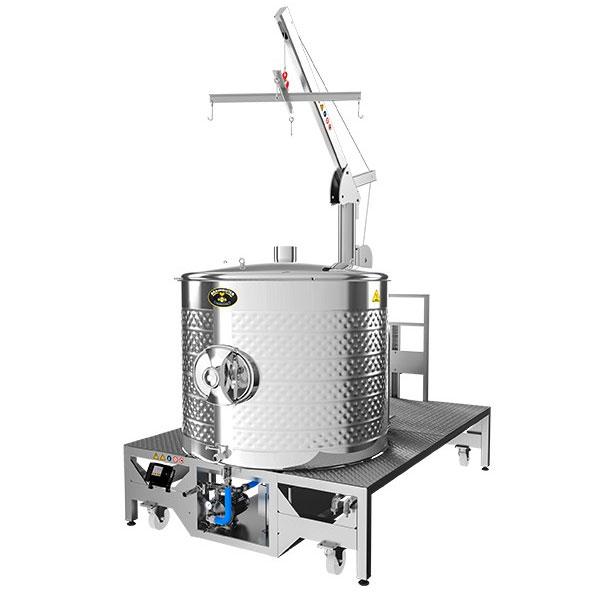 Wort boiling machine BREWMASTER BM-1000
