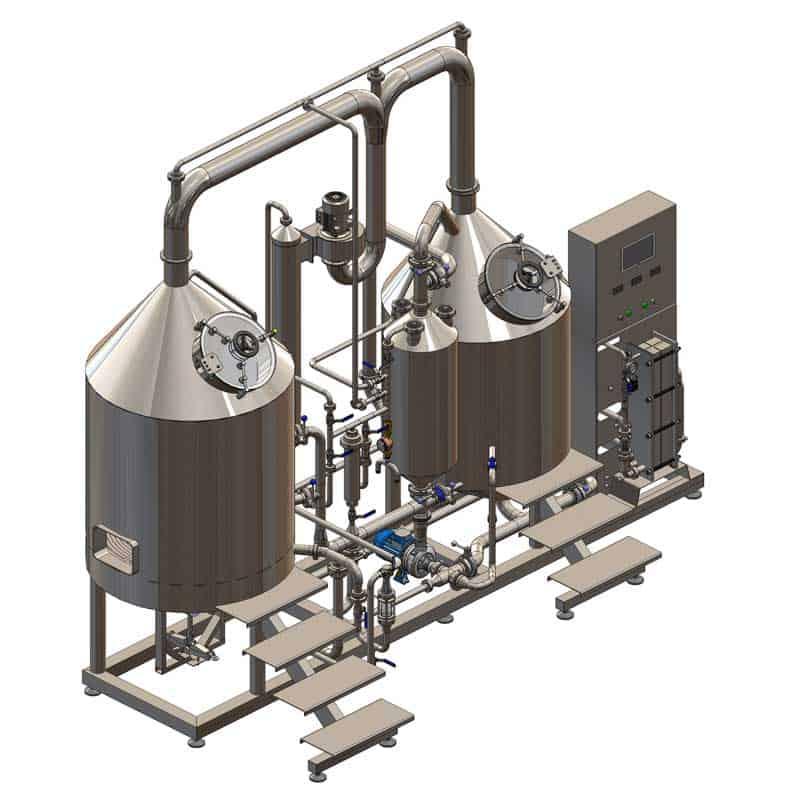 BH-BWCE-300 Wort boiling machine BREWORX CLASSIC-ECO 300