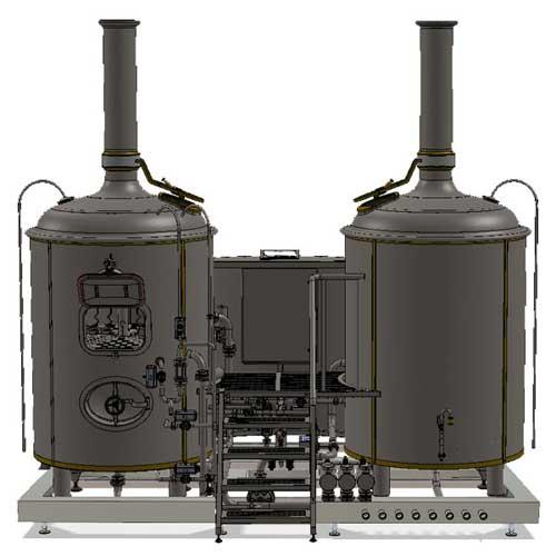 Wort boiling machine MODULO CLASSIC 1000