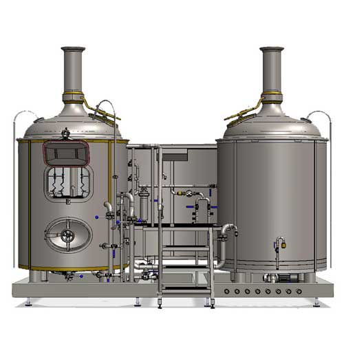 Wort boiling machine MODULO CLASSIC 500