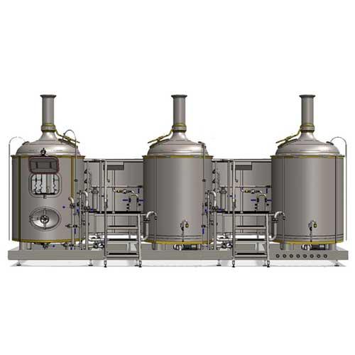 Stroj na vaření mladiny MODULO CLASSIC 3T-500