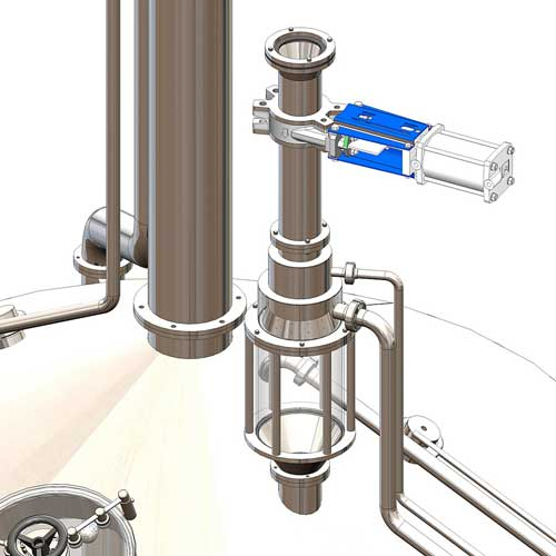 Options for the wort brew machines